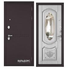 Входная дверь Бульдорс STANDART 90 Зеркало