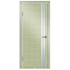 Межкомнатная дверь с алюминиевой кромкой ДГ 506
