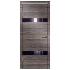 Межкомнатная дверь с алюминиевой кромкой ДО 502